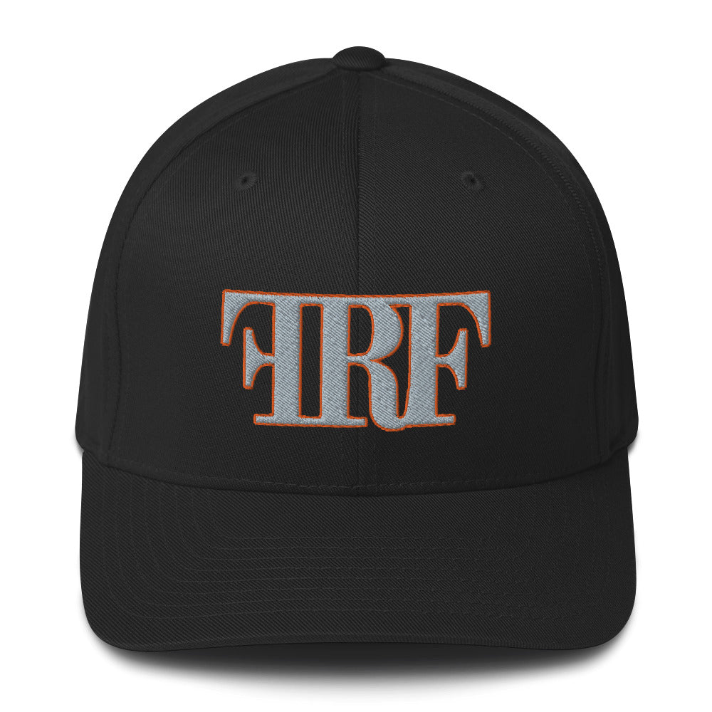 First Responder Foundation Flexfit Hat Grey/Orange