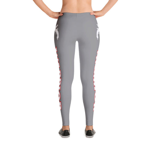 Gray Warrior Leggings