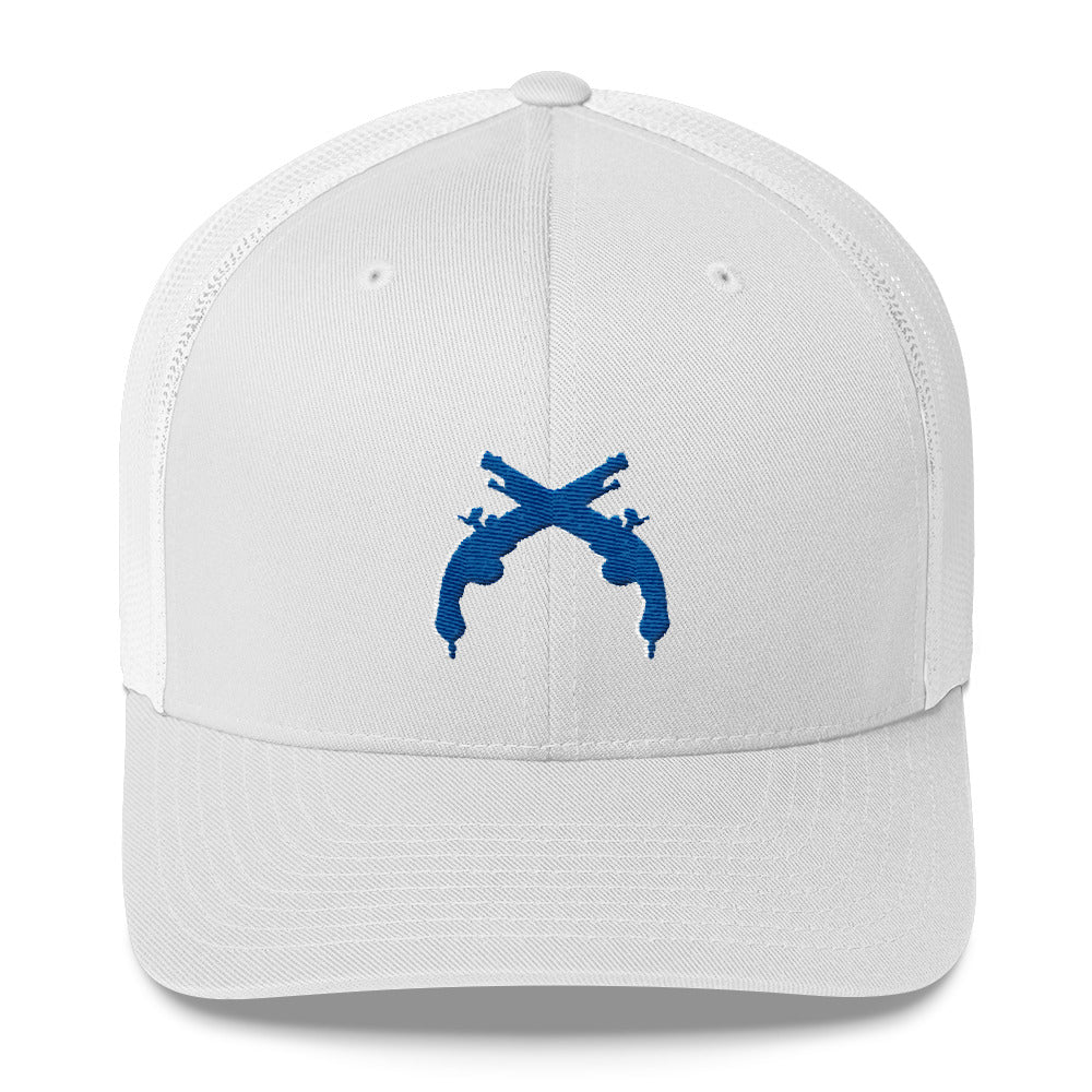 Trucker Cap Navy and White