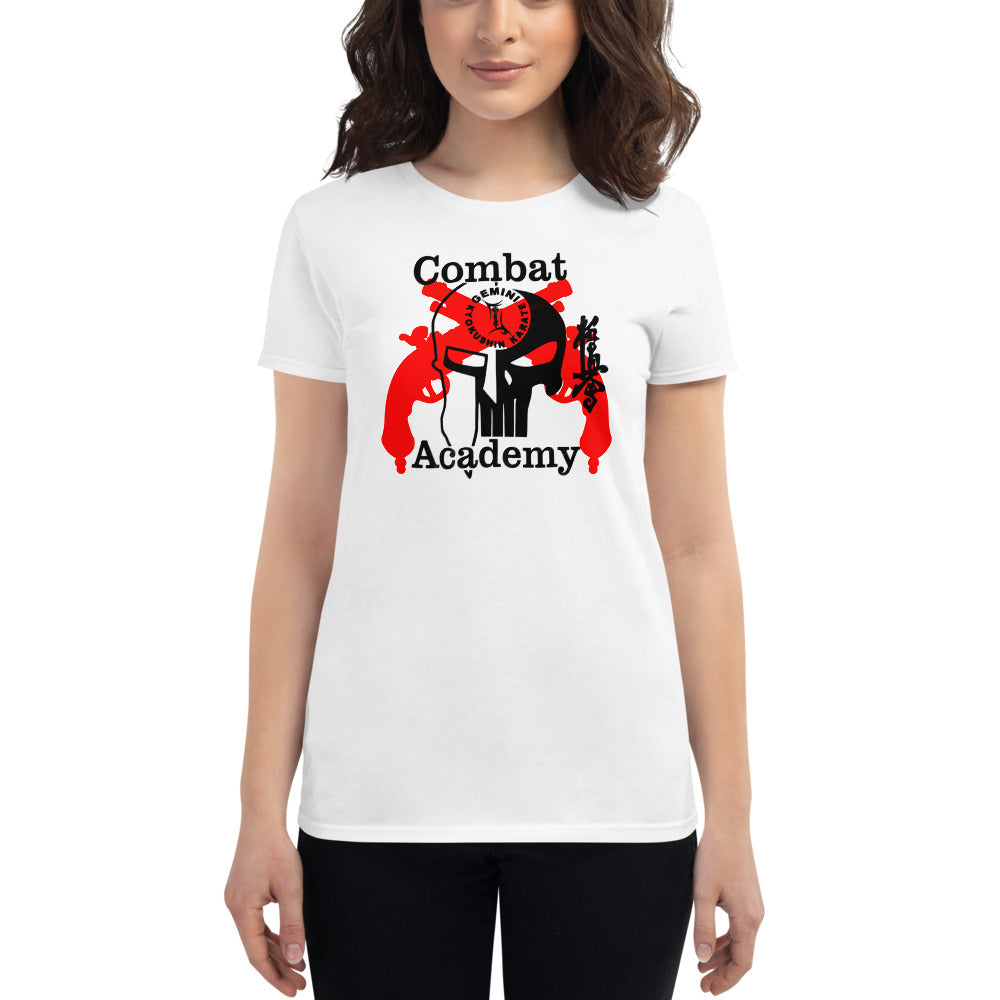 Women's Fitted Combat Academy Fight Shirt