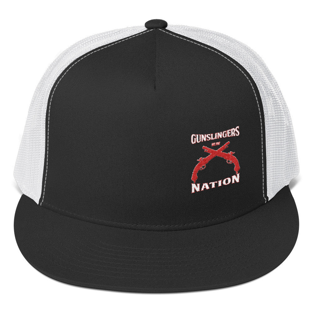 Gunslinger Nation Trucker Cap