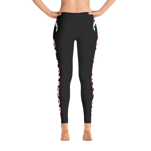 Black Gladiator Leggings