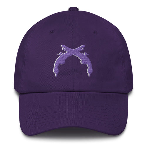 Unstructured Purple Guns Hat