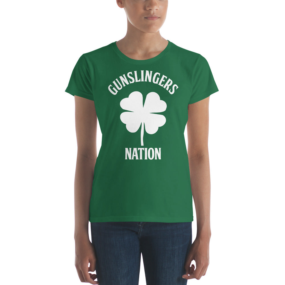 Women's Custom Shamrock Shirt