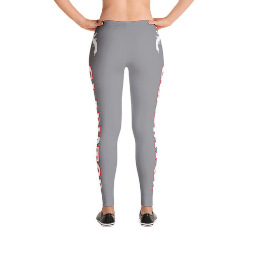 Gray Gladiator Leggings