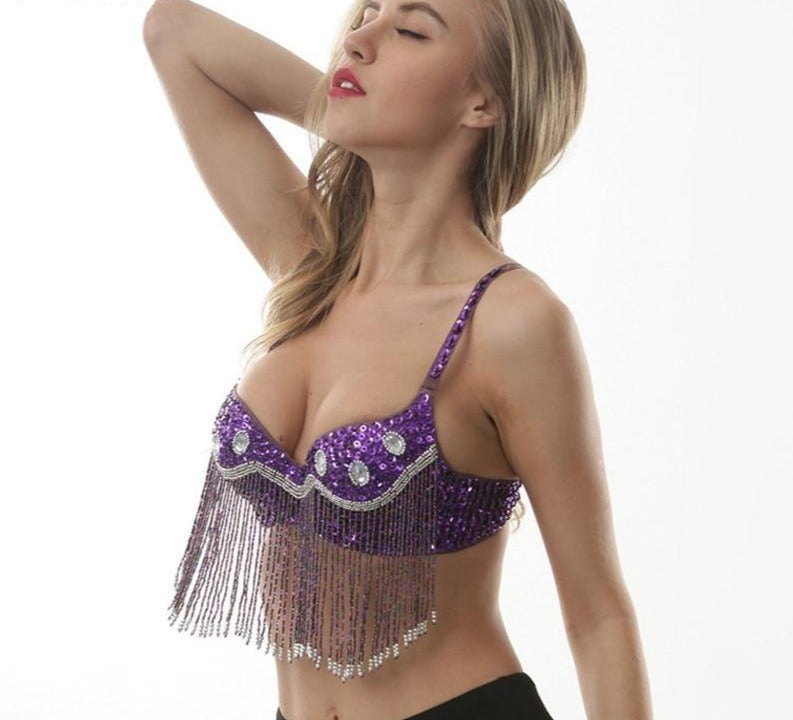 Worth the Tassel Party Bra