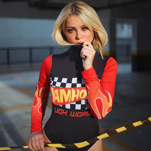 Hotwheels Long Sleeve Bodysuit
