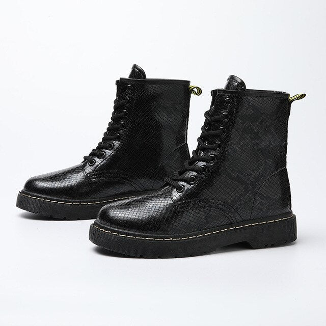 Lace up Punk Boots