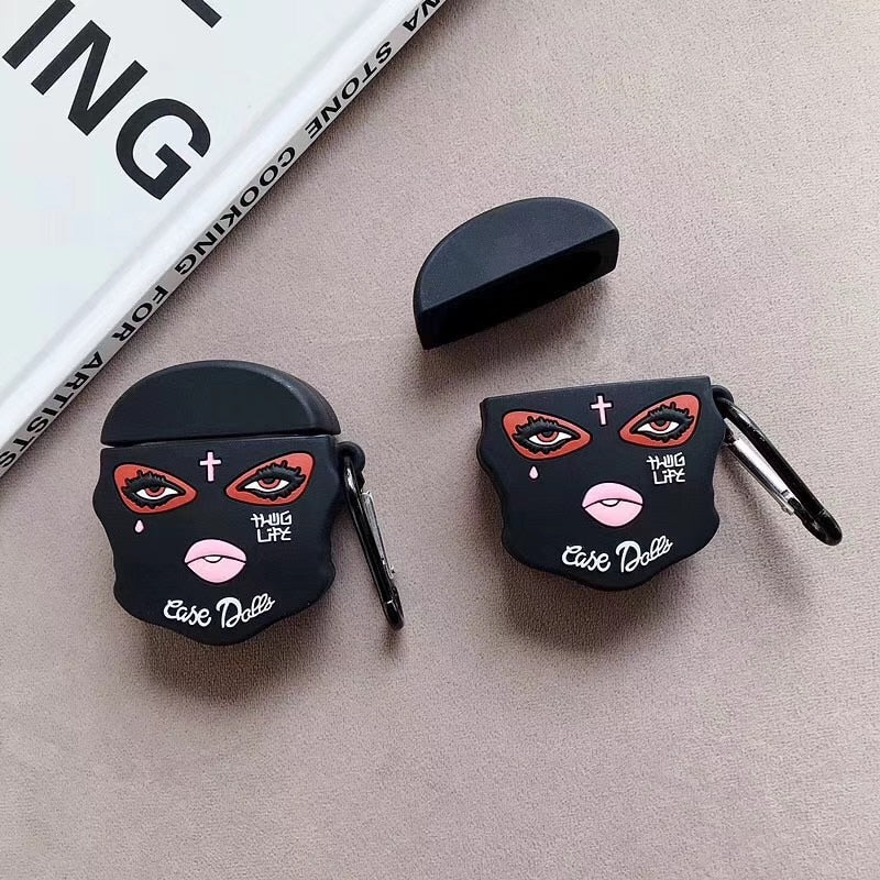 Thug Life Masked AirPod Case Cover