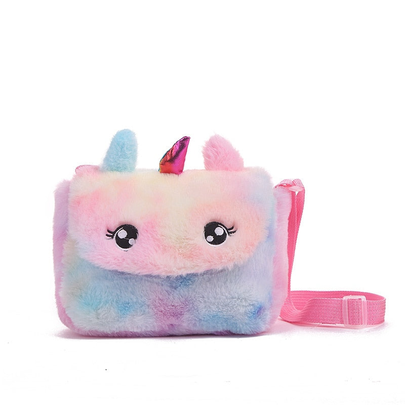 Unicorn Plushie Crossbody Bag