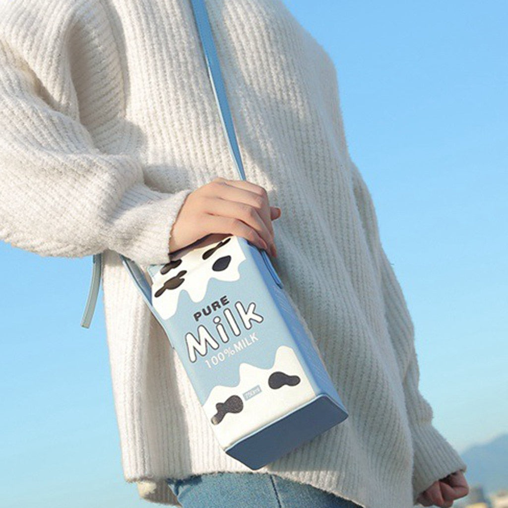 Milk Box Shoulder Bag
