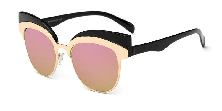 Royal Cat Eye Double frame Sunglasses