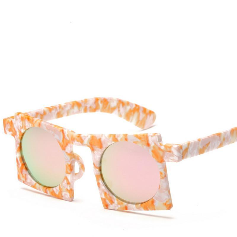 Funky Square Frame Sunglasses