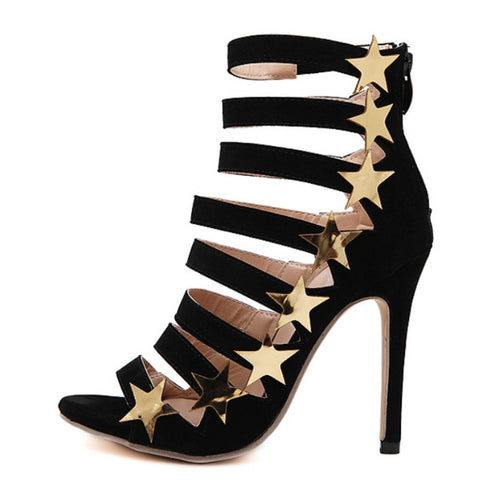 Stars and Stripes Sandal Pumps
