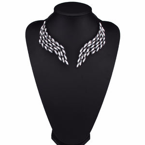 Wrap around Crystal Wing Choker