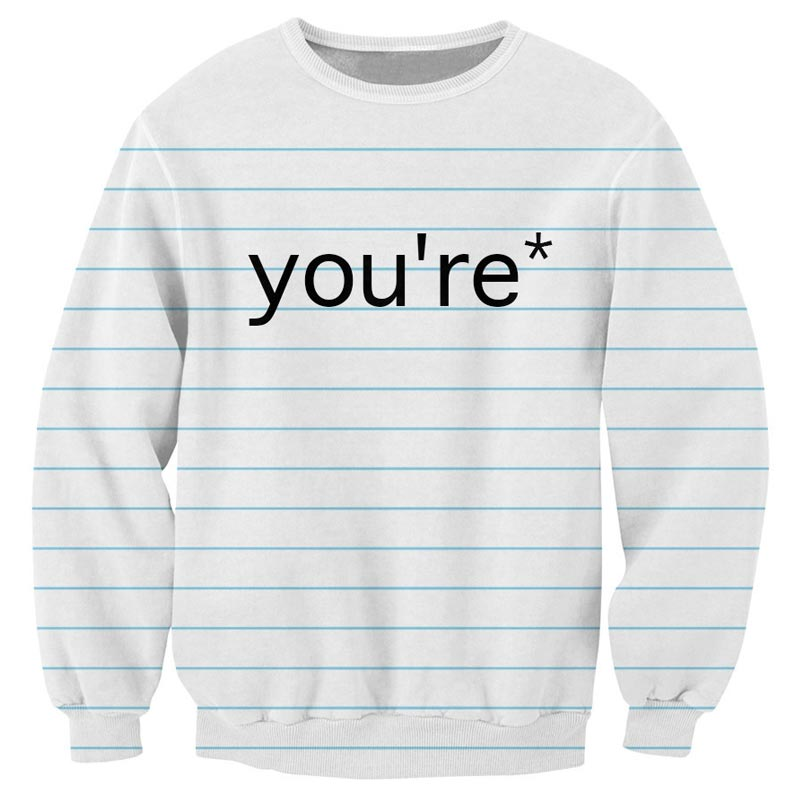 Grammar Nazi Sweater
