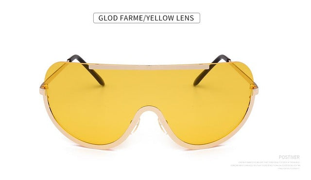 Windshield Gold Trim Sunnies