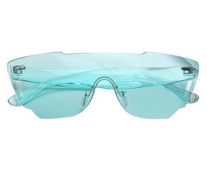 Jelly Bean Rimless Sunglasses