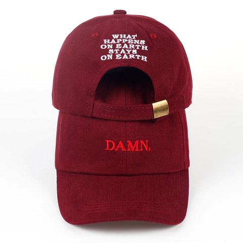 DAMN Embroidered Dad Cap