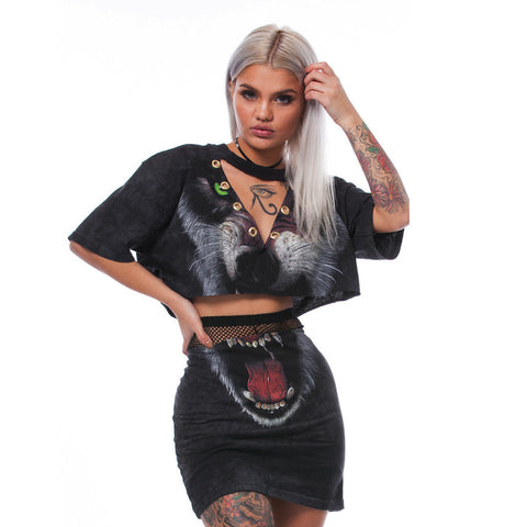 Punky 2 piece Skirt Set