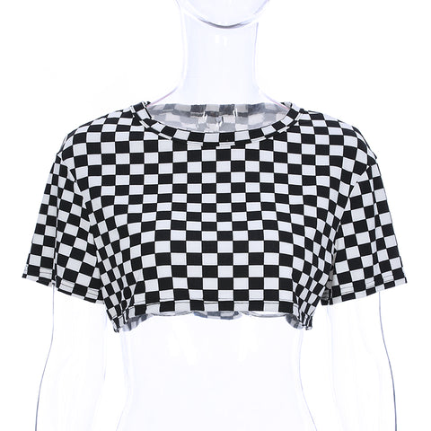 Check Me Out Loose Crop Top