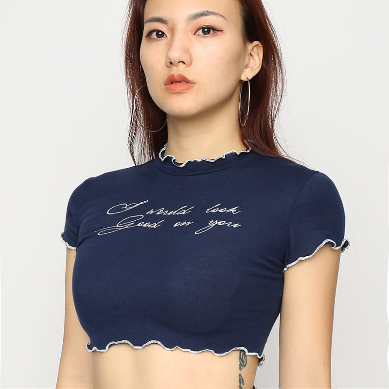 Look Good On You Crop Top