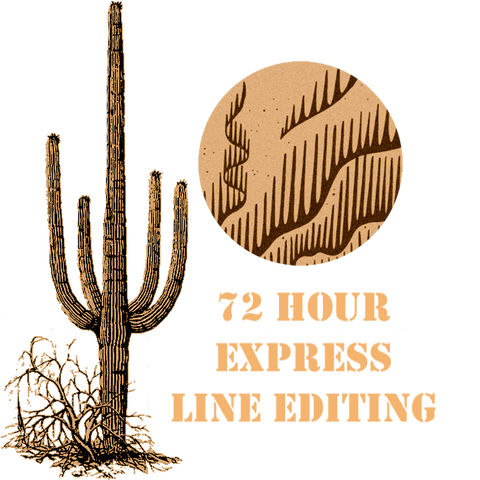 72 Hour Express Line Editing
