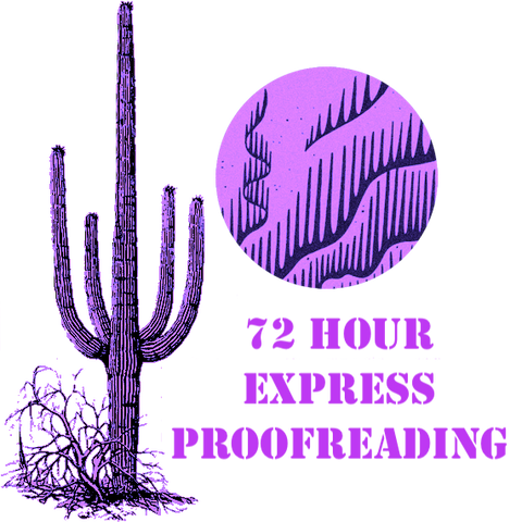 72 Hour Express Proofreading