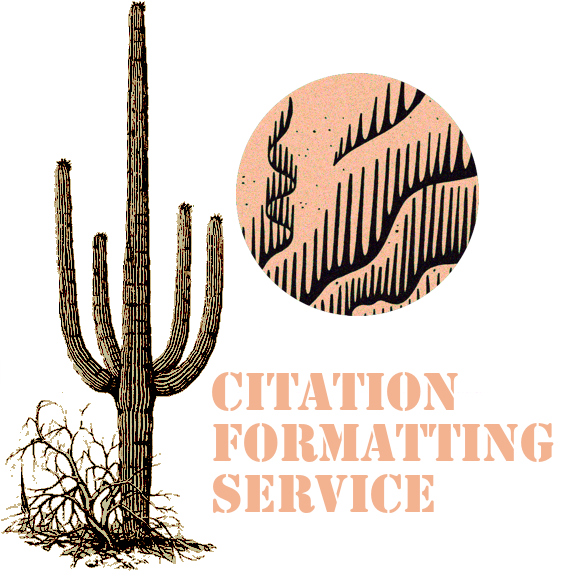 Citation Formatting (1 wk.)