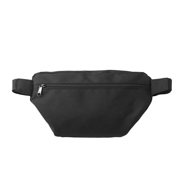 Fanny Pack, Black with White