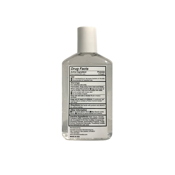 Hand Sanitizer 8 oz Bottle