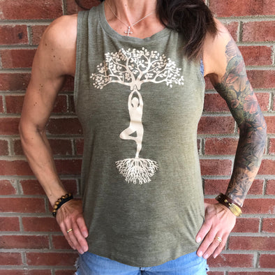 """Yoga Tree"" Women's Tank Top"
