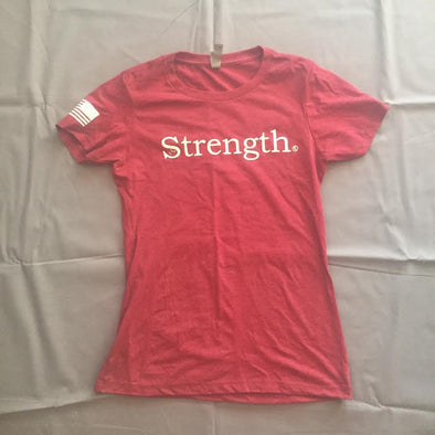 """Strength"" Women's T-Shirt (3 Color Options)"