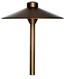 "BRASS HAT (12"") PATH LIGHT MODEL SE1902 SERIES"