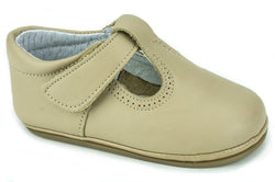 Classic Leather T-Strap Mary Janes Easy Open