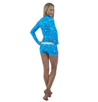 Women's Rashguards Blue Fish