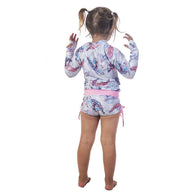 Kid's Rashguards & Shorts - Turtle Friends