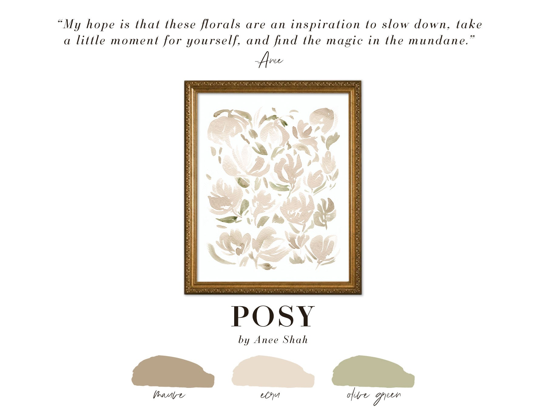 Shop POSY by Anee Shah