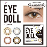 EYEDOLL by LILMOON 1-MONTH Milky Gray - GOGO iLENS