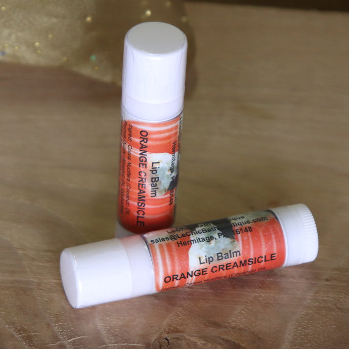 Lip Balm ~ Orange Creamsicle