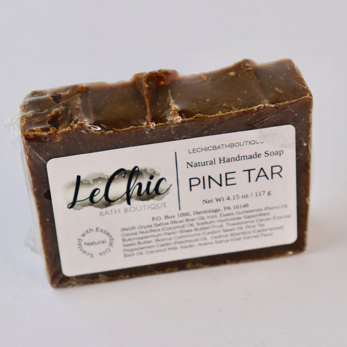 Natural Handmade Bar Soap ~ Pine Tar