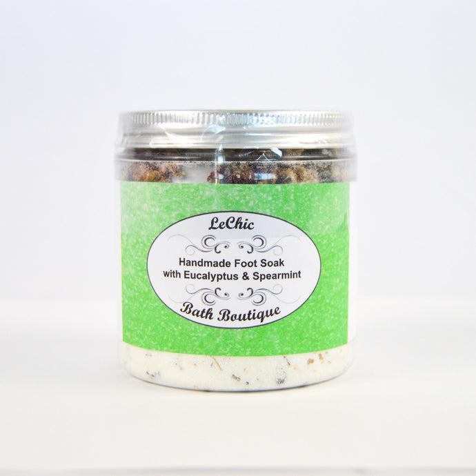 Handmade Foot Soak with Eucalyptus & Spearmint
