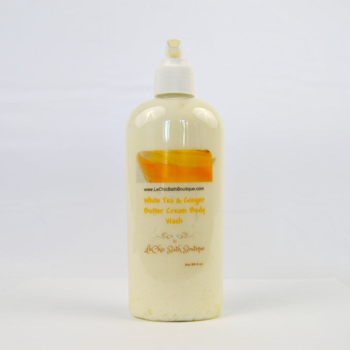 White Tea and Ginger Butter Cream Body Wash