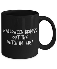funny witch mug Halloween coffee cup party favor gift for friend