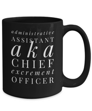 Funny Sayings Mug Administrative Assistant CEO Cute Motivational Inspirational Sarcastic Coffee Cup Mug
