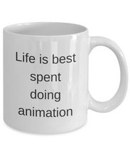Funny Mug coffee mug cup animation motivational inspirational cute sayings gift life is best animation
