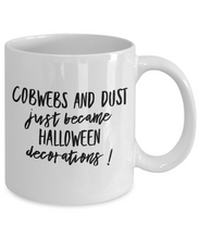 Halloween funny mug coffee cup spiders party favor gift for