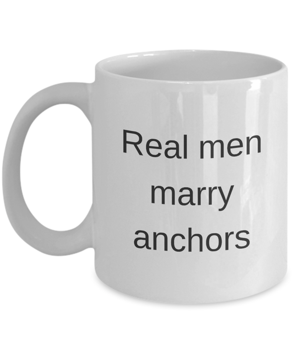 Funny Mug coffee mug anchors cup motivational inspirational cute sayings gift marry wedding