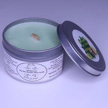 Wooden Wick Soy Candle ~ Sage and Citrus