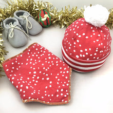 Baby Christmas Set in Red - Baboosh Designs